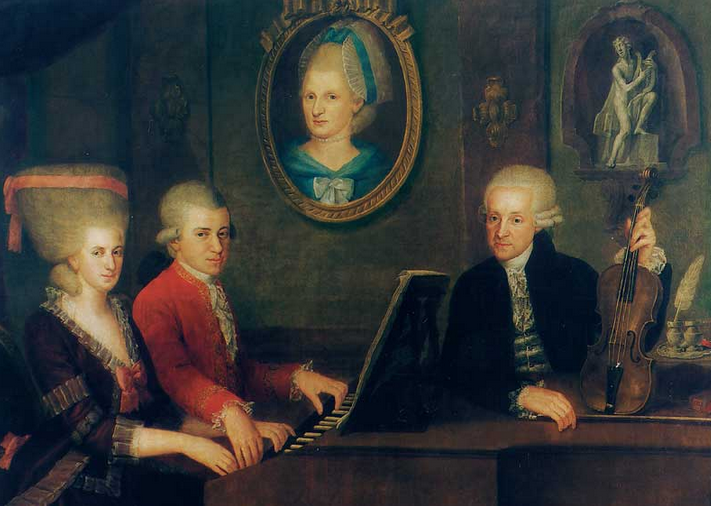 Did Nannerl Mozart lend a helping hand to her little brother?
