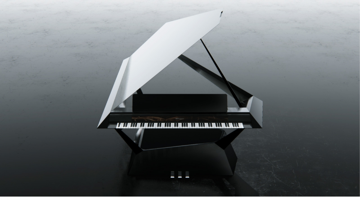 Competition unleashes futuristic piano designs