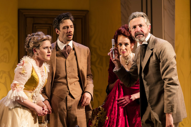 a review of the play a flea in her ear by georges feydeau Georges feydeau's 1907 farce a flea in her ear is a classic of the genre trinity rep's associate artistic director tyler dobrowsky is a smart, sophisticated interpreter of theater dobrowksy.