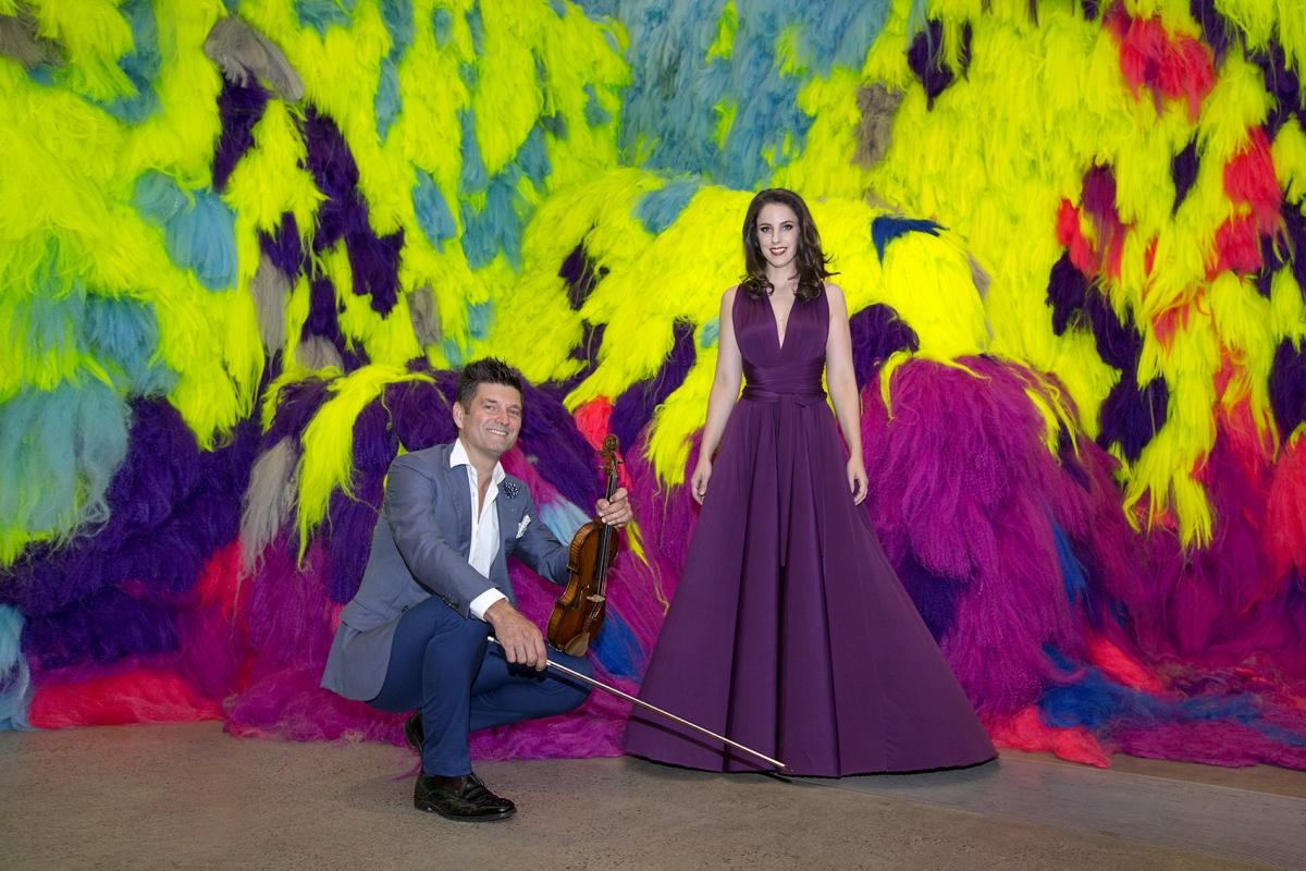 Katie Stenzel and Brendan Joyce in Sensory
