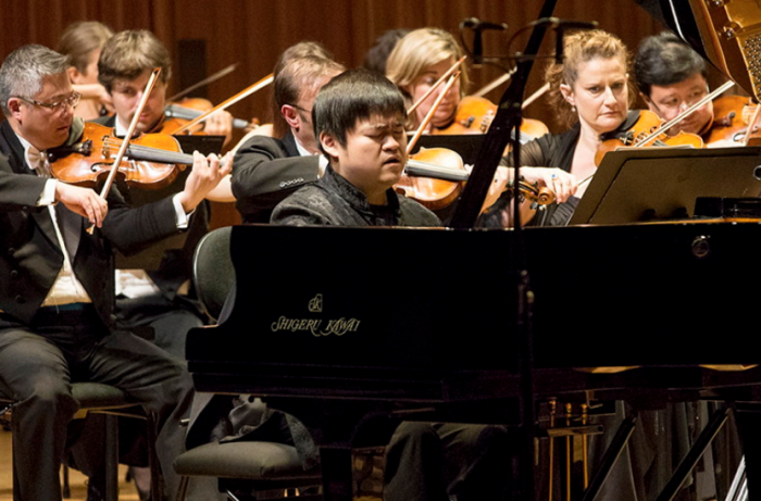 Moye Chen at the Sydney International Piano Competition