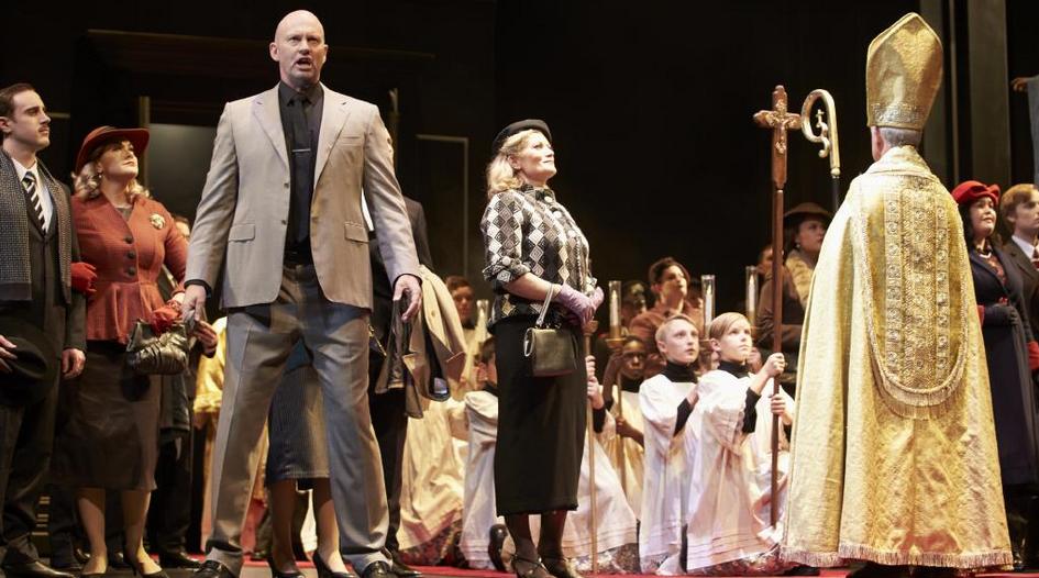 Teddy Tahu Rhodes in West Australian Opera's Tosca