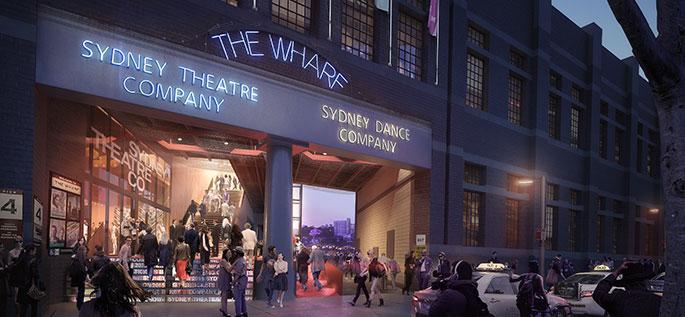 Sydney Theatre Company's Wharf Renovation