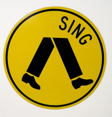 Richard Tipping's Sing Streetsign