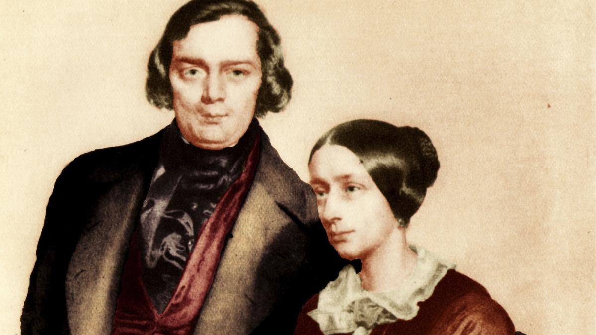 Robert and Clara Schumann kept a sex diary