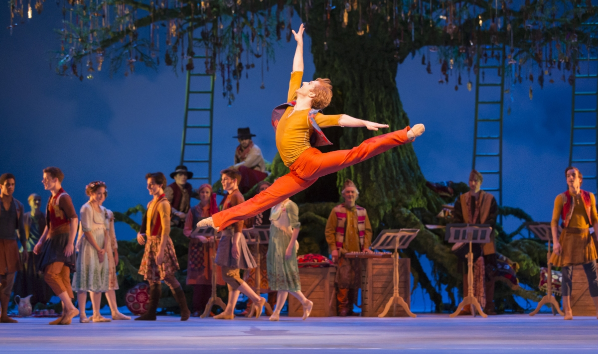 The Royal Ballet, The Winter's Tale, Steven McRae
