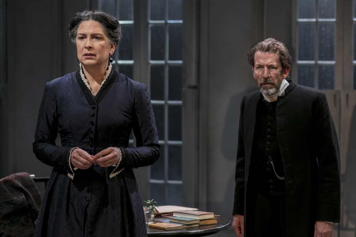 an exploration of the character of mrs alving in ghosts by henrik ibsen Ghosts by henrik ibsen  ibsen conceived the character of manders  mrs alving to revolt and just because she is a woman, she will.