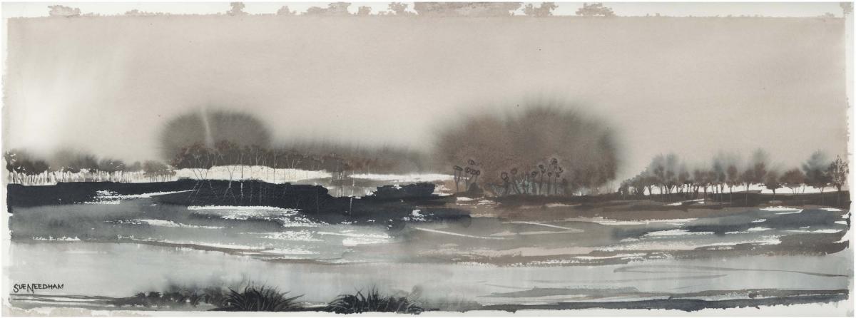 Sue Needham, Stormy Seashore