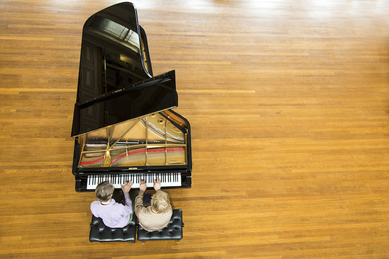 Timothy Young's top seven works for piano four hands