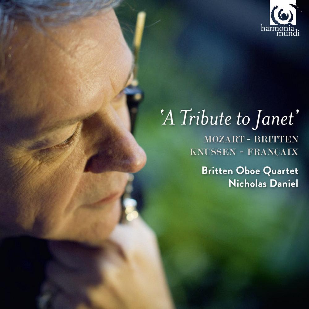 A Tribute to Janet, Nicholas Daniel, Britten Oboe Quartet