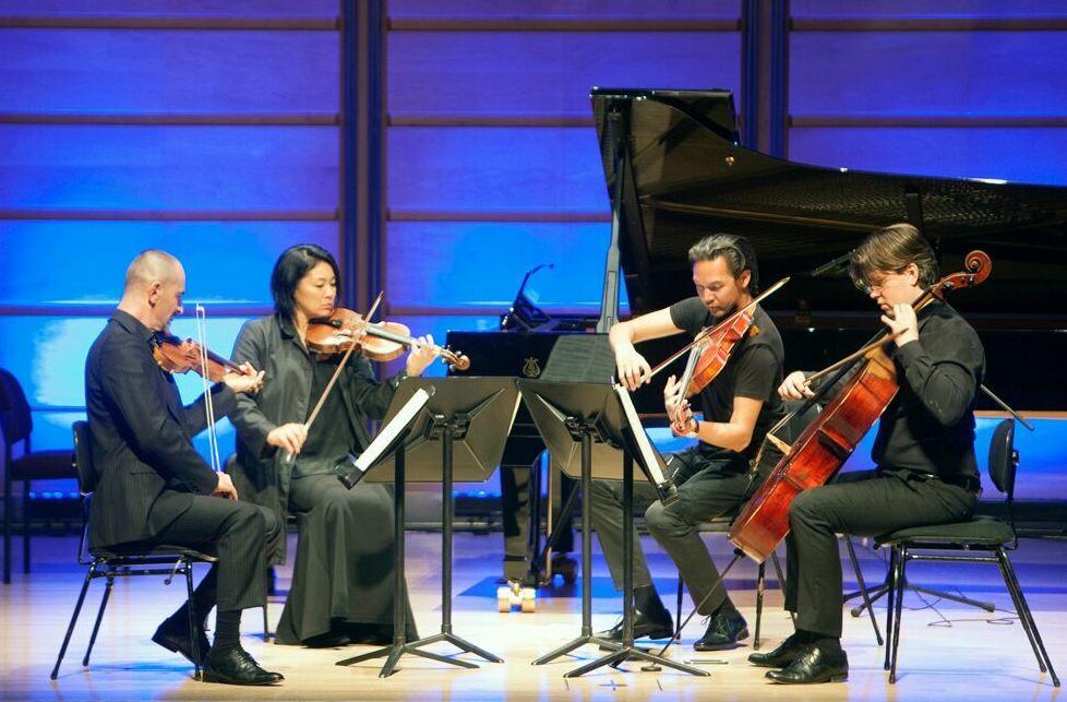 Omega Ensemble, quartet, Ravel Impressions