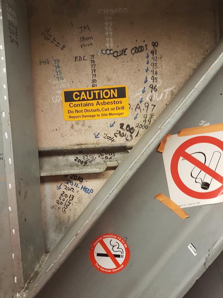 Joan Sutherland Theatre, Sydney Opera House, Graffiti