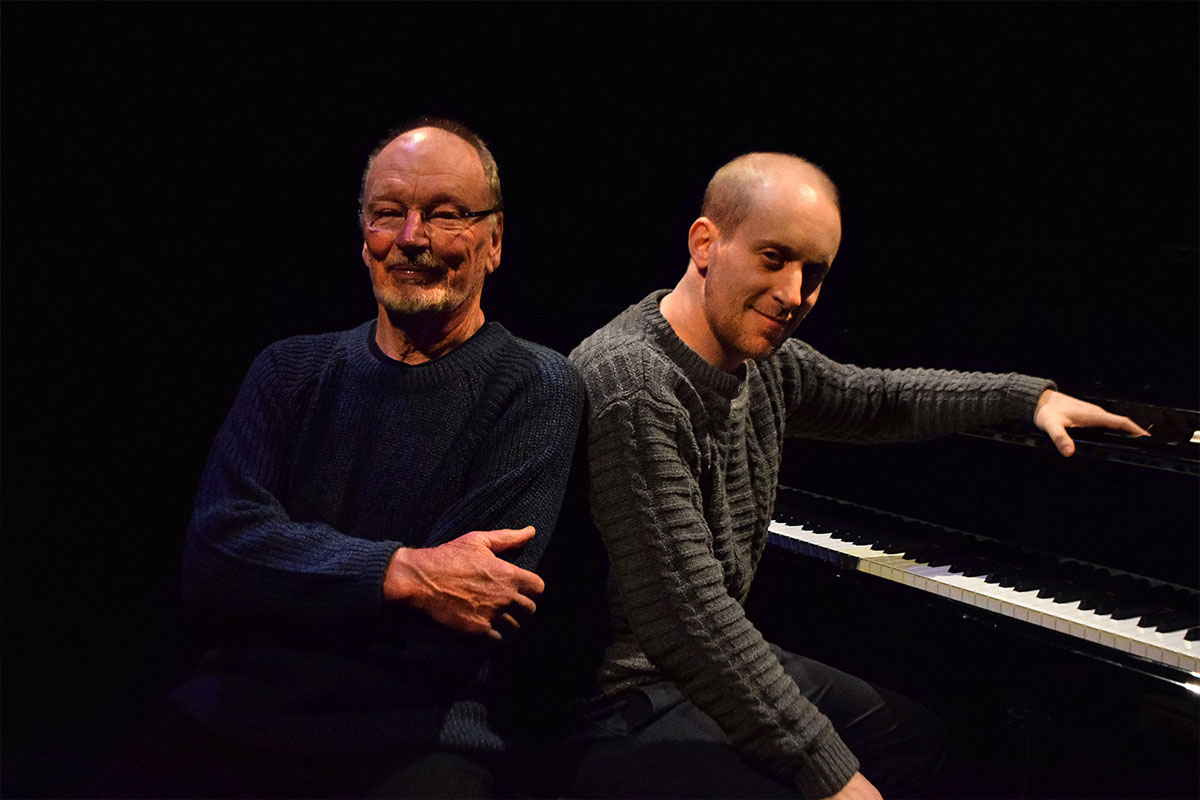 John Bell and Simon Tedeschi. Photo by L Spirovski