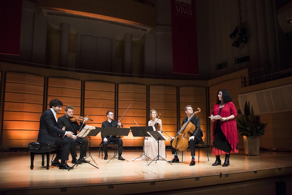 Avi Avital, Giocoso String Quartet, Musica Viva