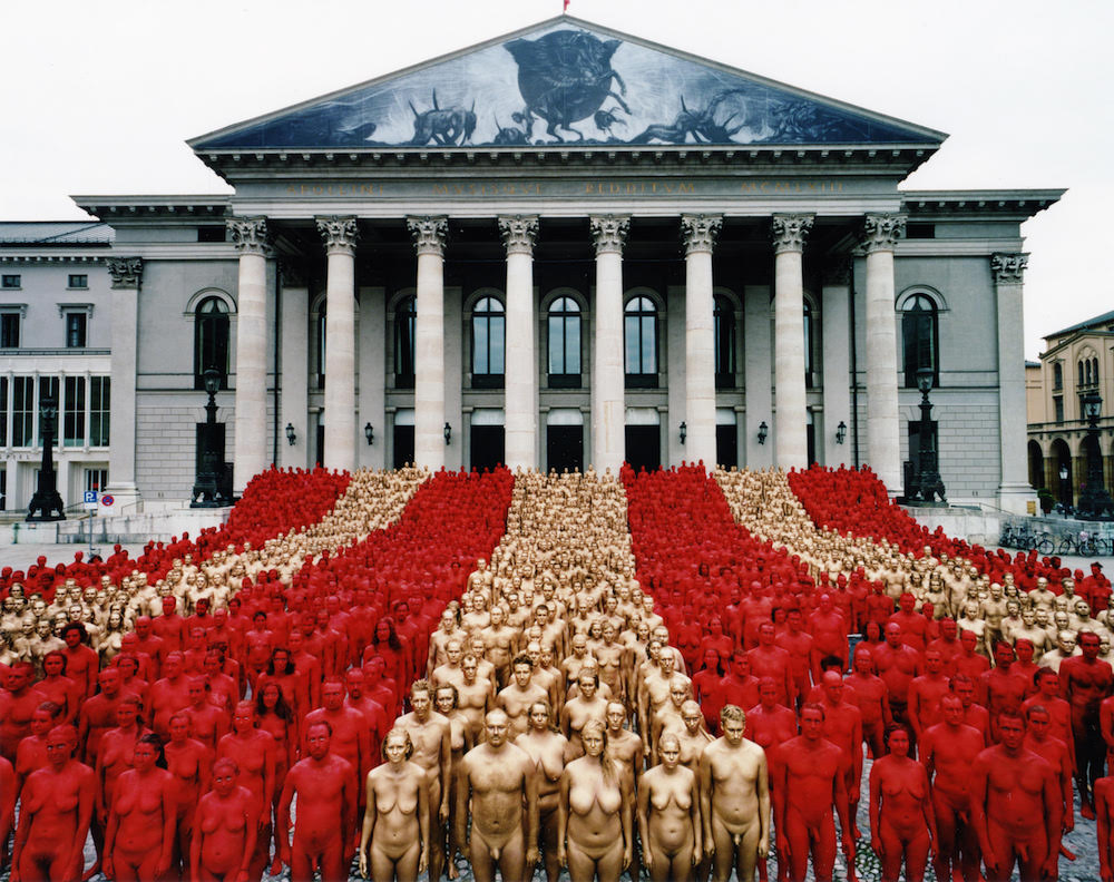 Spencer Tunick, Return of the Nude