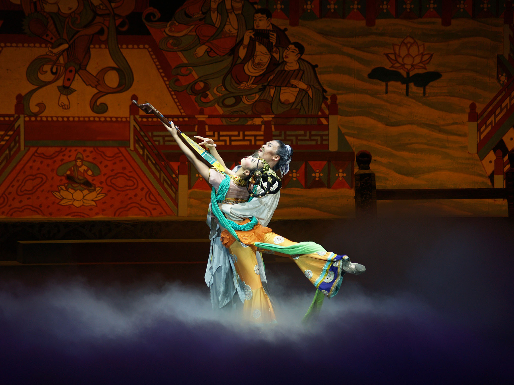 Gansu Dance Troupe's The Legend of Dunhuang. Photo: supplied