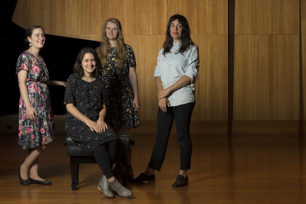 Georgia Scott, Peggy Polias, Josephine Macken, Bree van Reyk, Composing Women, Women Composers
