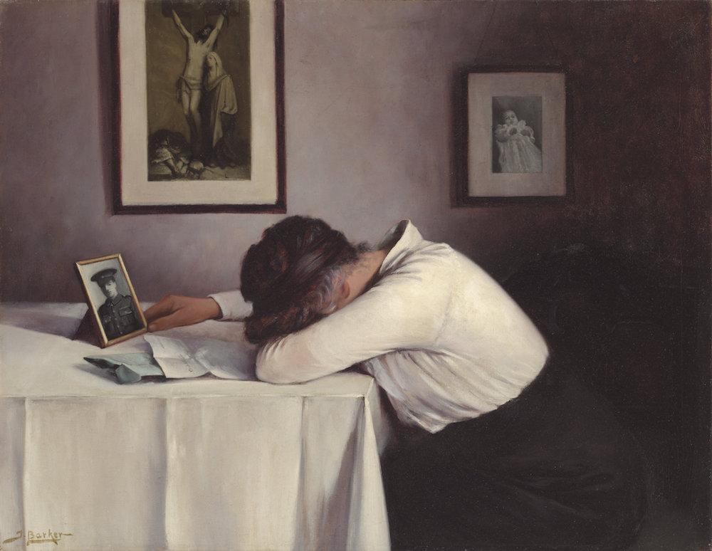 John Barker, Sorrowing Mother