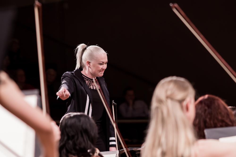 Sarah-Grace Williams, TMO, The Metropolitan Orchestra