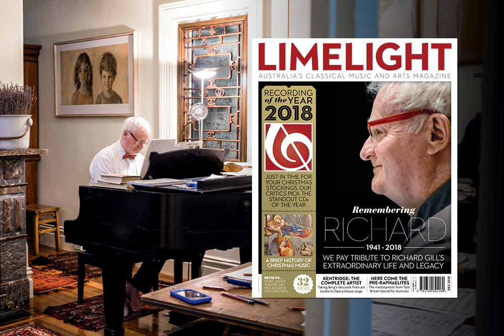 Richard Gill, Limelight Magazine
