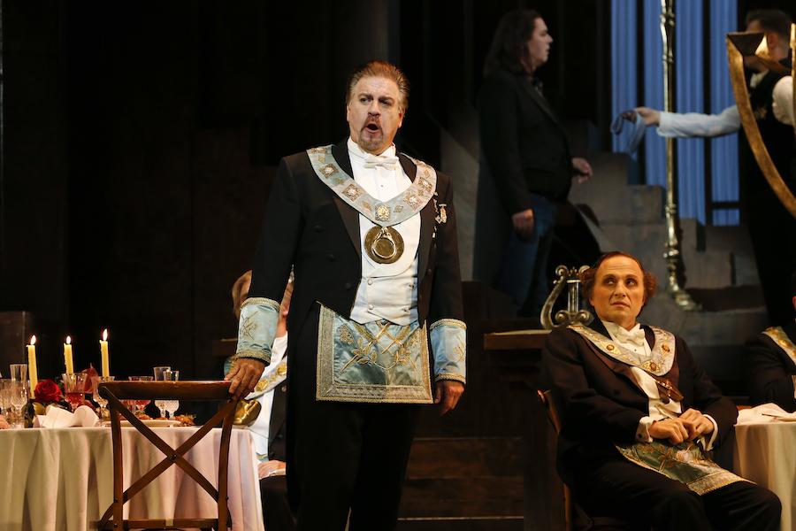 Meistersinger, Meistersinger review, Opera Australia, Daniel Sumegi, Warwick Fyfe