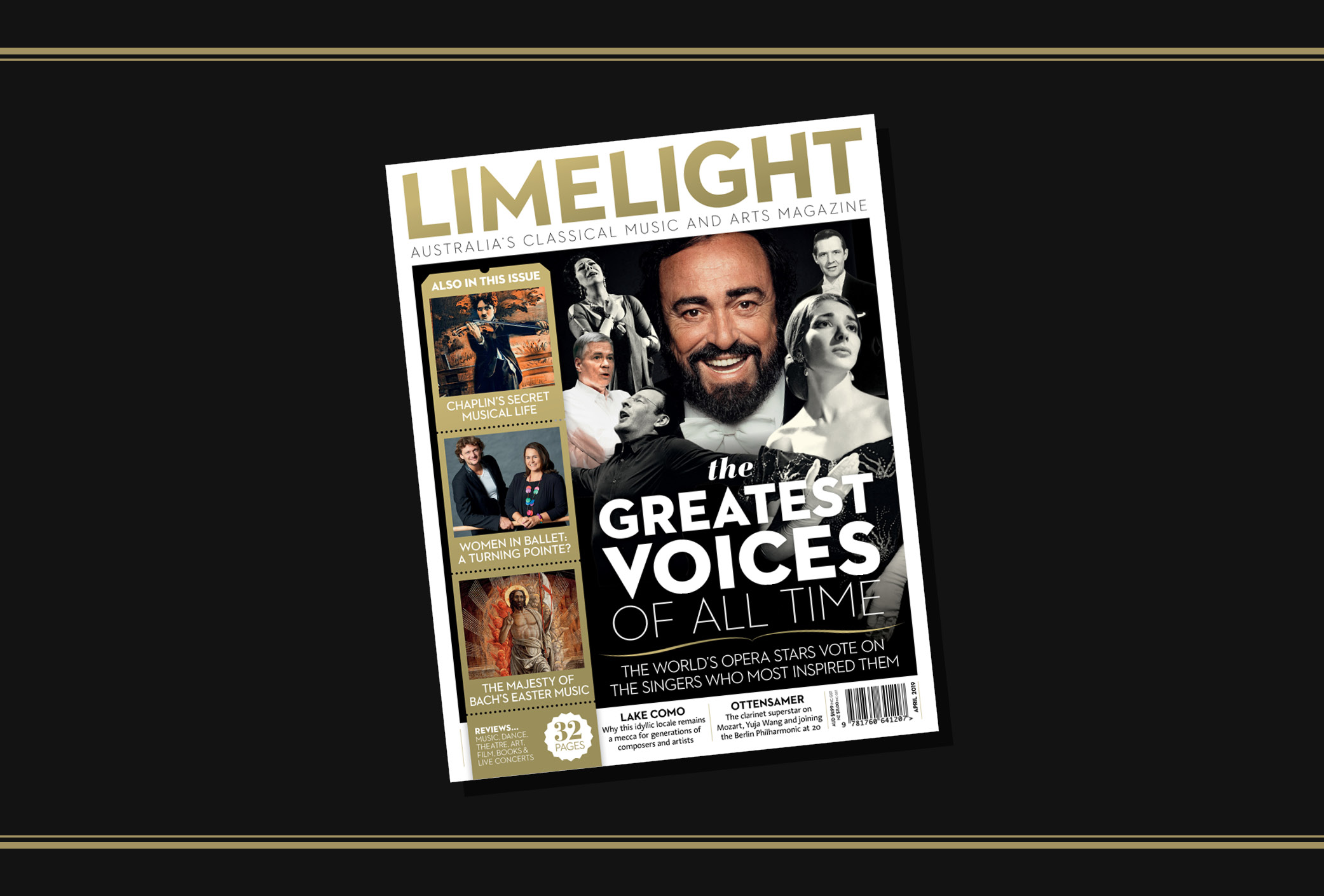 Read the April 2019 issue of Limelight Magazine online