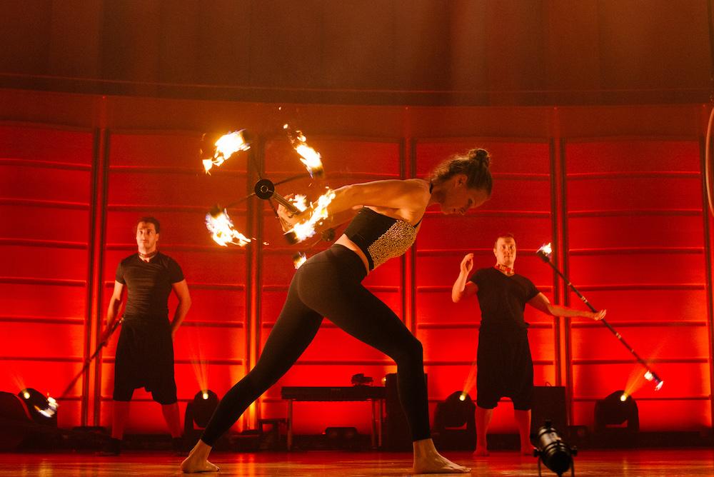 Sonja Schebeck, Concertos on Fire