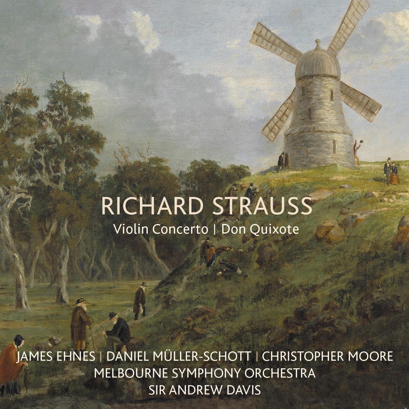 Strauss: Don Quixote, Violin Concerto (Melbourne Symphony