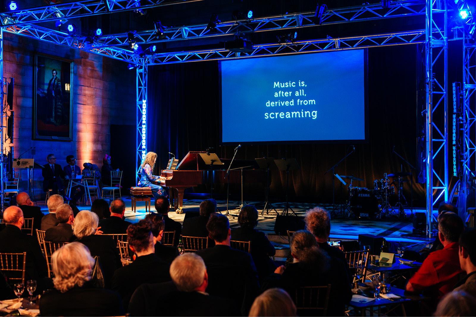 Sonya Lifschitz at the Art Music Awards