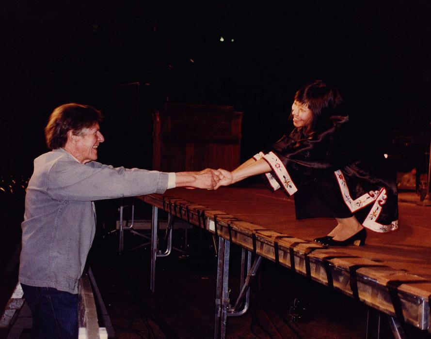 John Cage and Margaret Leng Tan