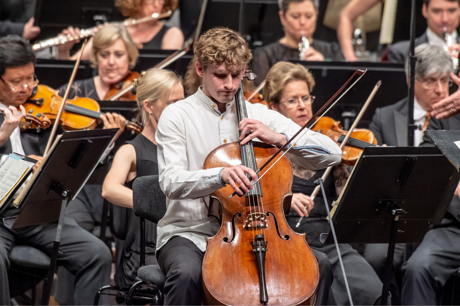 Andreas Brantelid and the Sydney Symphony Orchestra
