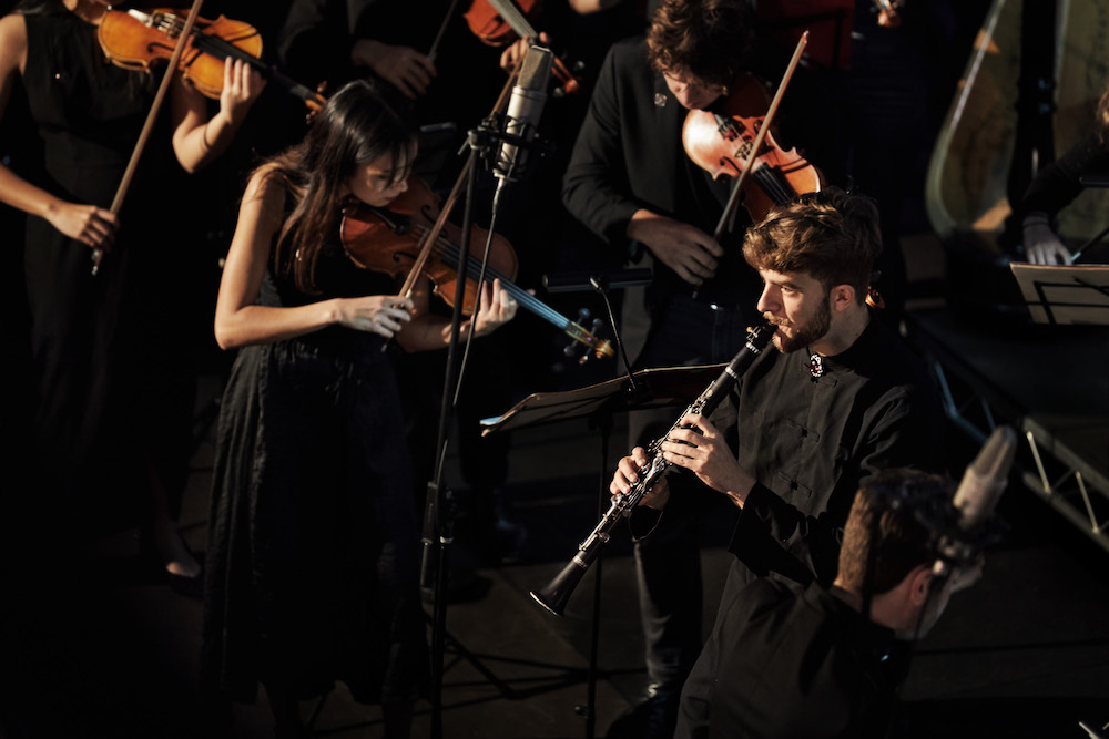 Oliver Shermacher and Ensemble Apex