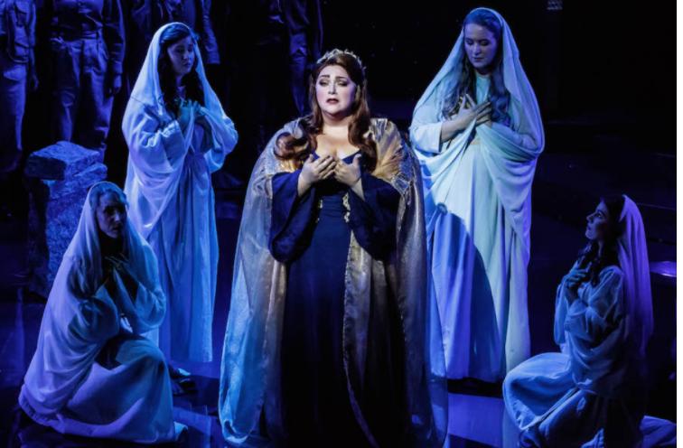 Helena Dix in Melbourne Opera's Norma