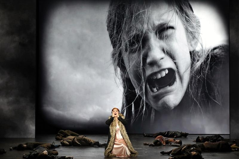 Natalie Aroyan in Opera Australia's Attila.