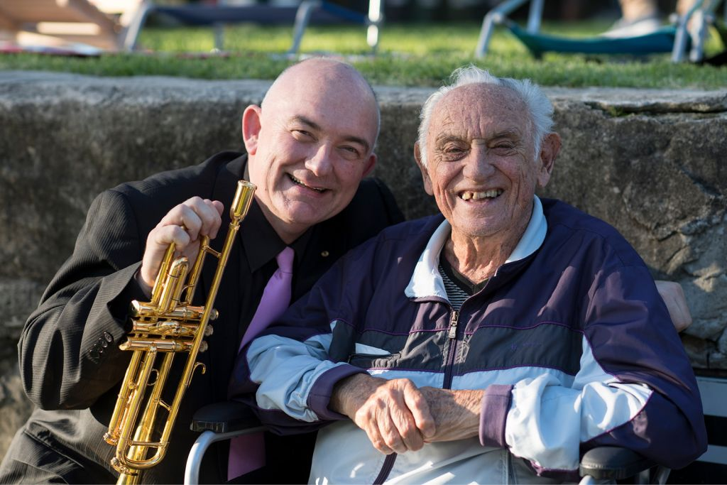 James Morrison and Don Burrows