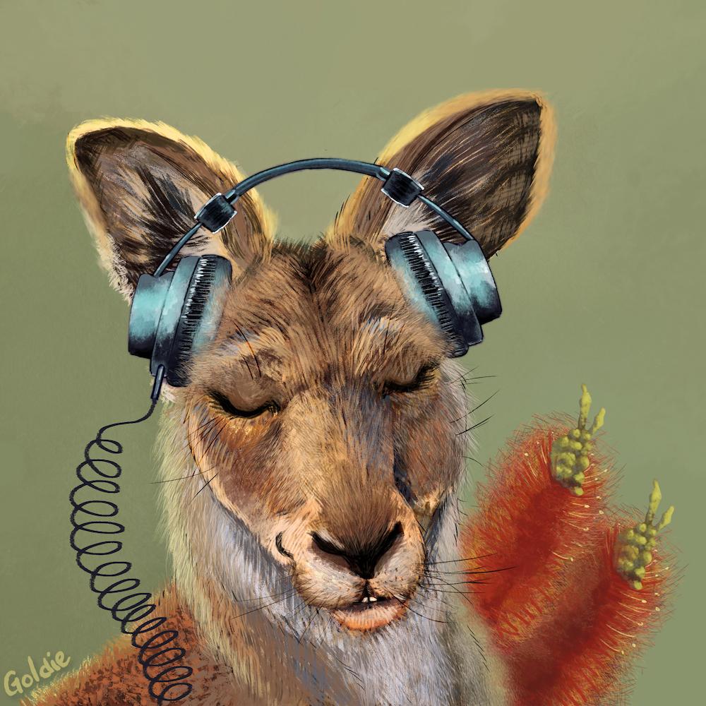 Kangaroo by Marigold Bartlett