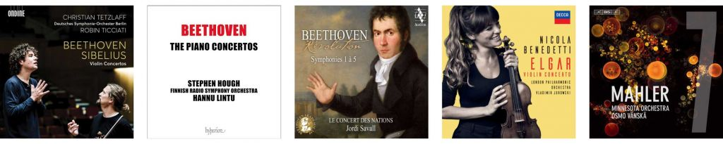 Orchestral Recordings of the Year nominees