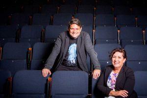 Wesley Enoch and his sister Leeanne Enoch