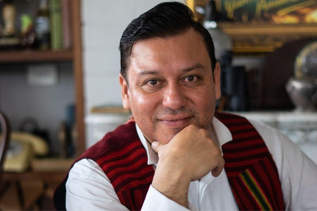 Composer Daniel Rojas