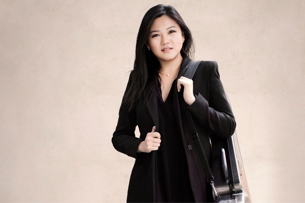Violinist Emily Sun