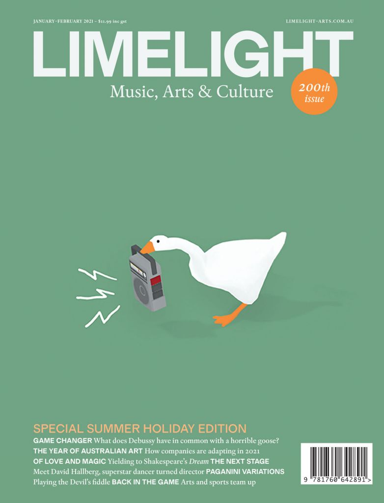 The cover of Limelight's January–February magazine