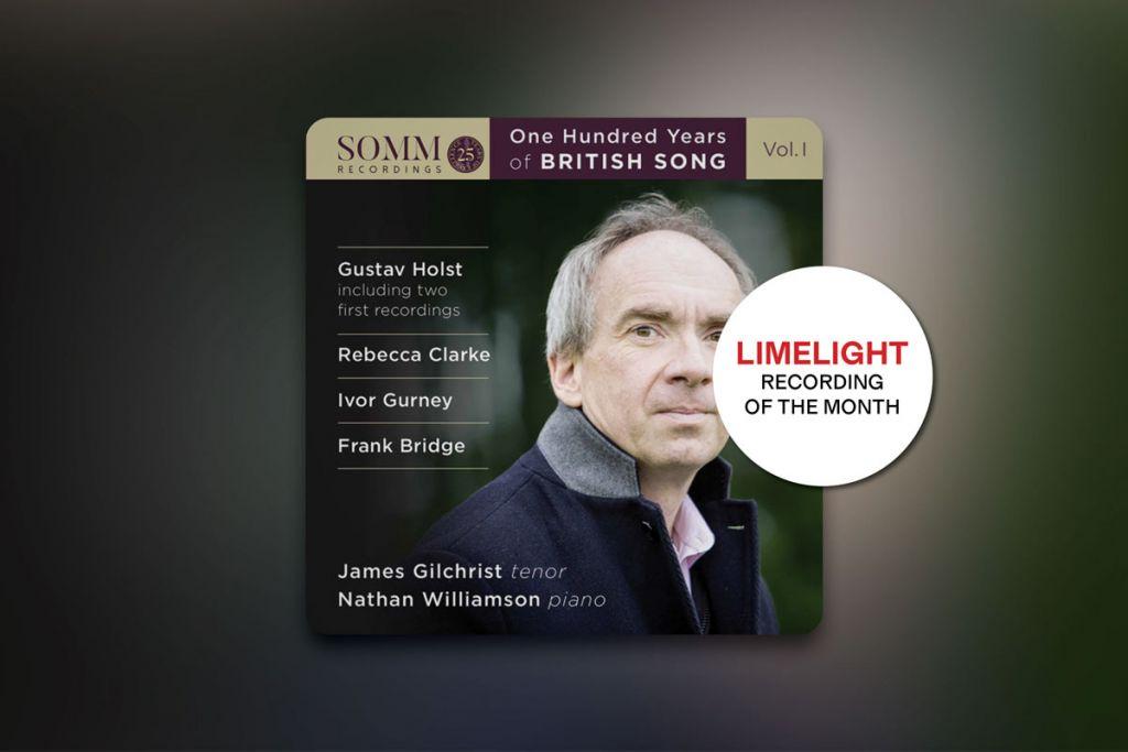 One Hundred Years of British Song, Volume 1 album artwork