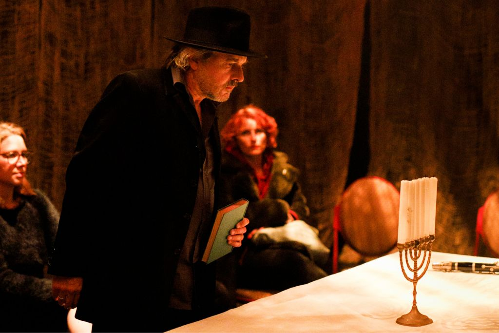 Humphrey Bower in The Golem at The Blue Room Theatre. Photo © Daniel Grant