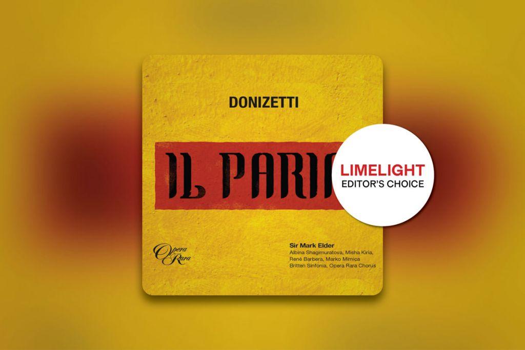 Il Paria album artwork