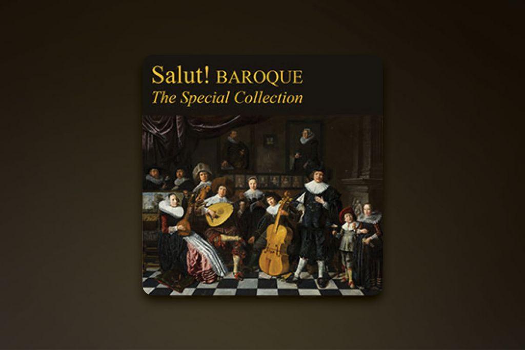 Salut! Baroque album art