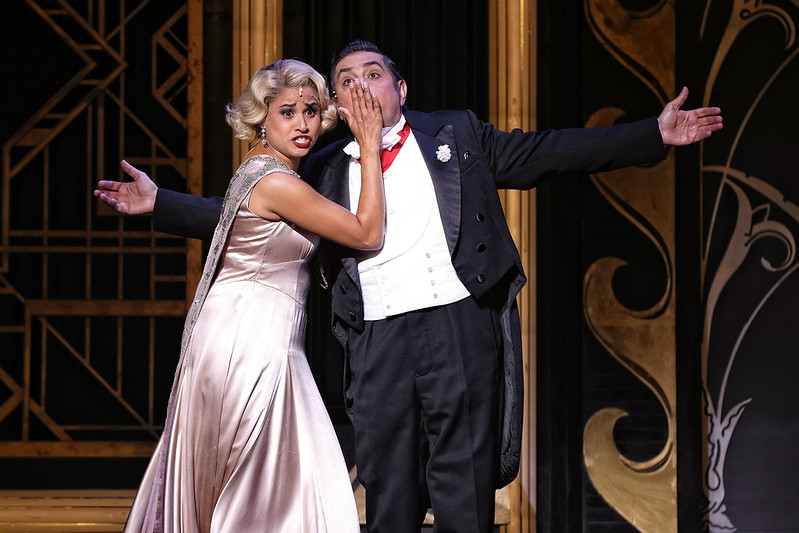 Stacey Alleaume and Virgilio Marino in Opera Australia's The Merry Widow