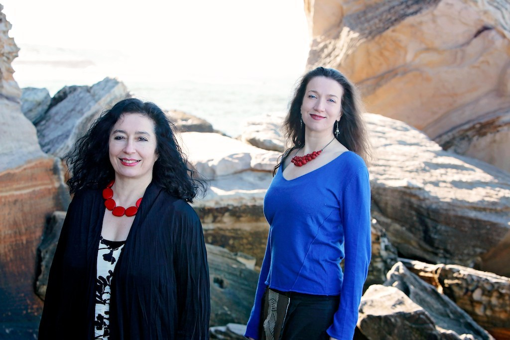 Elena Kats-Chernin and Sally Walker