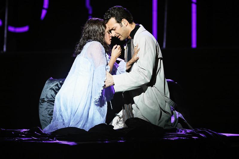 Stacey Alleaume and Rame Lahaj in Handa Opera on Sydney Harbour: La Traviata