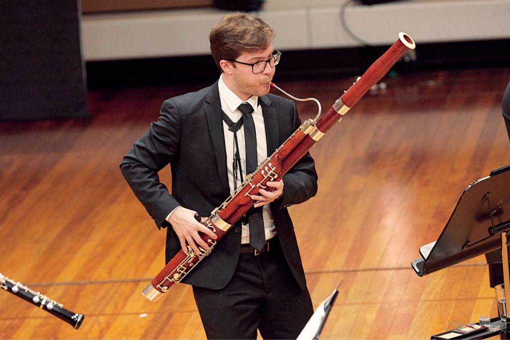 Bassoonist Jack Schiller