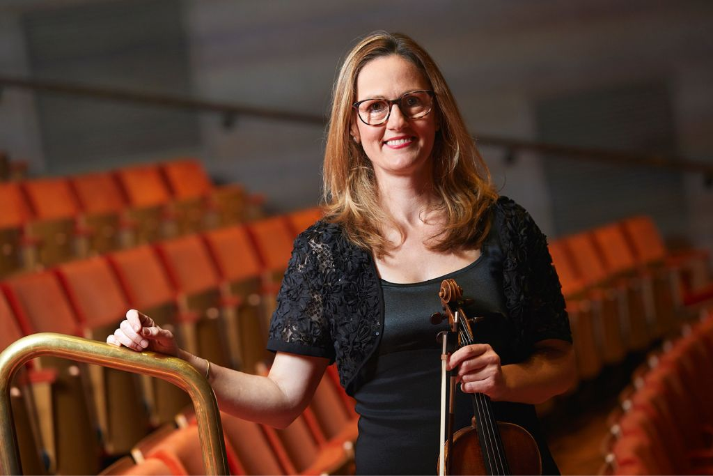 Melbourne Symphony Orchestra Concertmaster Sophie Rowell credit Laura Manariti